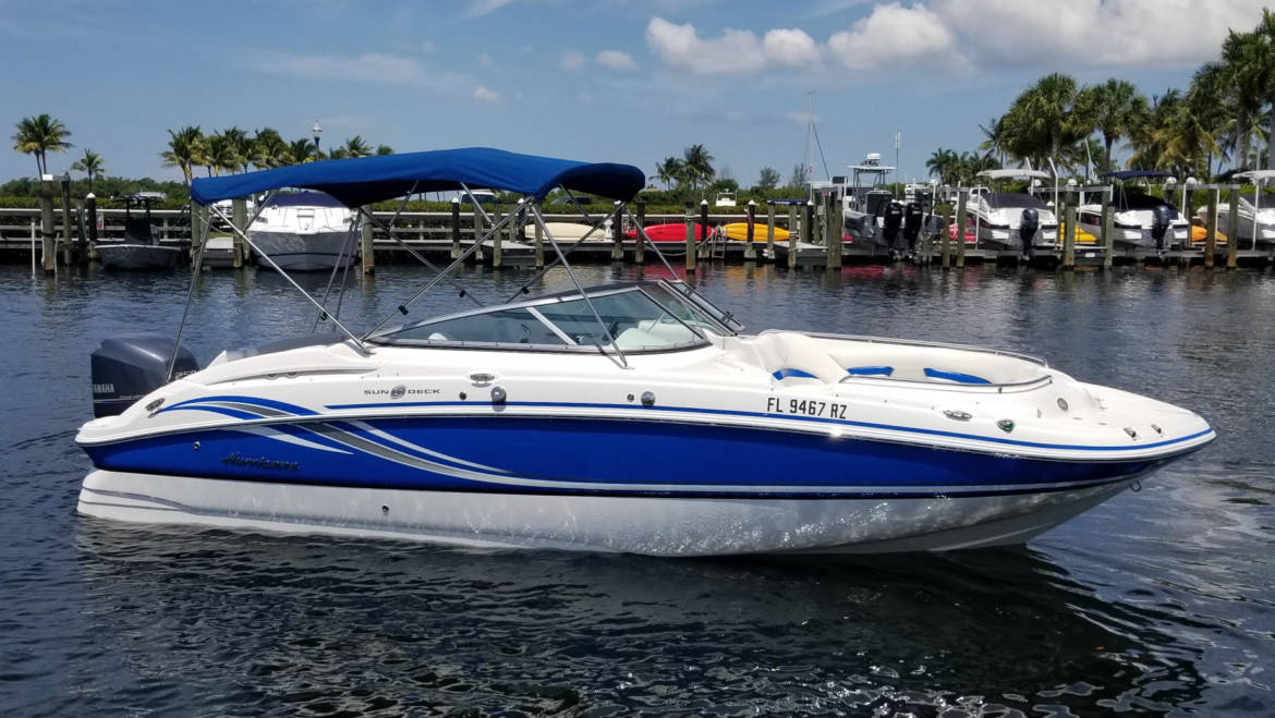 Hurricane 2400 Sun Deck