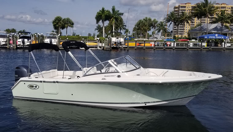Sea Hunt 235 Escape
